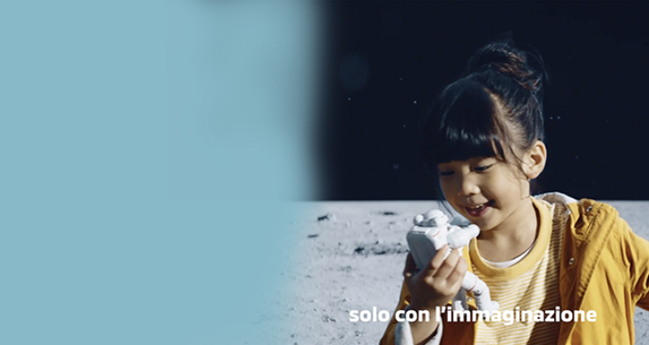 We choose to go to the moon - A video that tells the ability to imagine the future
