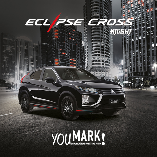 Kube Libre accompanies Mitsubishi Motors in the customization of a special version of the Eclipse Cross Suv Coupe