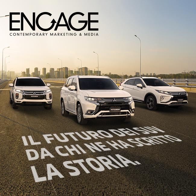 Mitsubishi: gli spot per la nuova gamma SUV in tv e sul digitale
