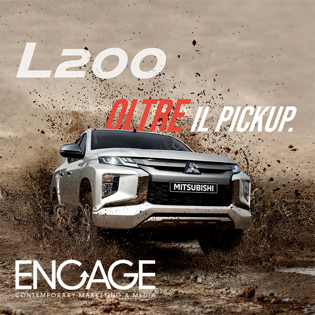 Mitsubishi goes on air and online with the new L200 pickup
