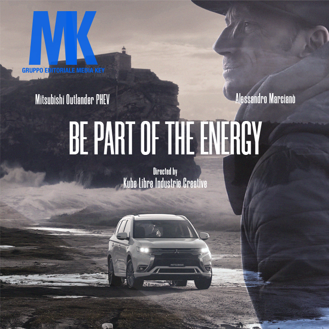 Kube Libre for Mitsubishi Motors Italia signs the docu-film Be Part Of The Energy