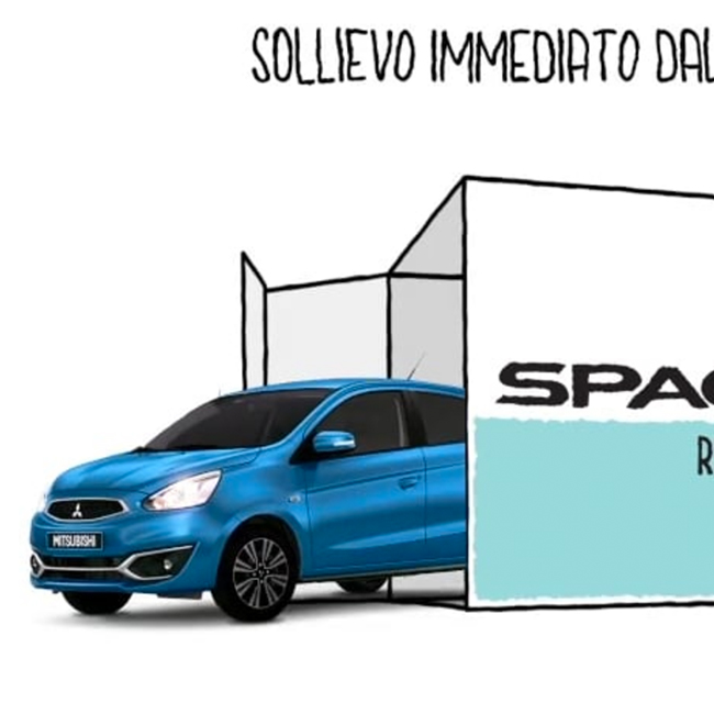 The collaboration between Kube Libre and Mitsubishi continues. It's time to revive Space Star