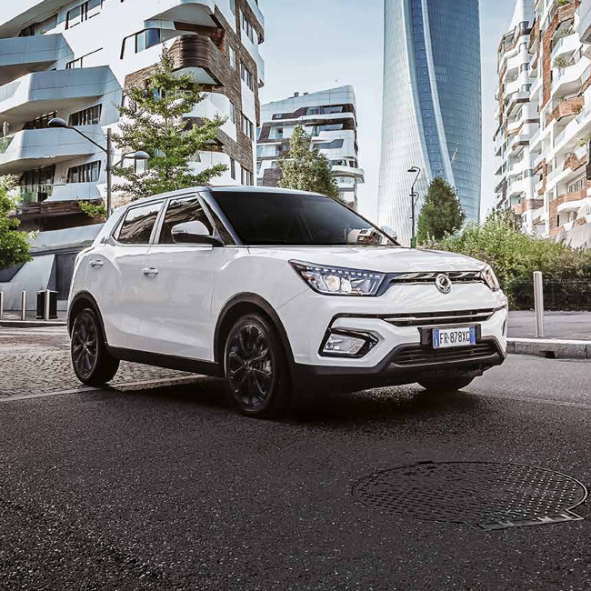 Kube Libre signs the Italian spot for the launch of Tivoli SsangYong